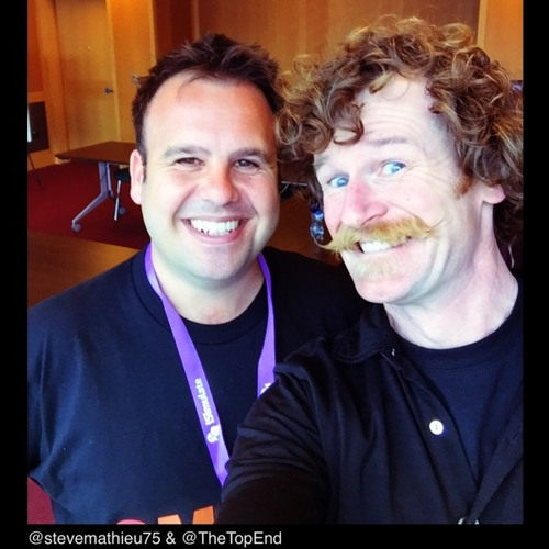 Jellybean #53 with @stevemathieu75 of the Bottomline.org.uk