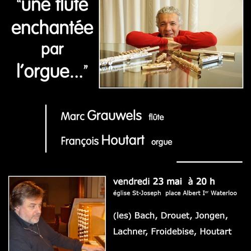 """François Houtart """"Retour Sur Incices"""", opus 31. Marc Gauwels, flûte et orgue"""