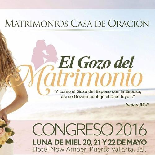 Congreso de Matrimonios 2016 - El gozo del matrimonio