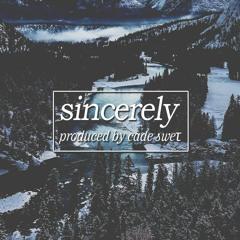 sincerely (prod. cade sweτ)