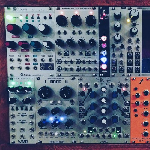 First Patch With Mutable Instruments' Clouds