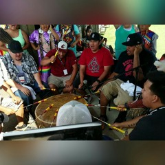 Black Lodge at 25th Annual Mille Lacs Band of Ojibwe Grand Celebration Pow Wow in Hinckley, Minnesota