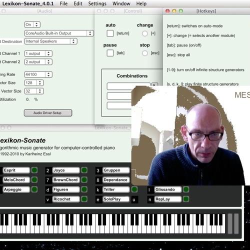 Mitzi Mess spielt Karlheinz Essls Lexikon-Sonate (Piano Solo in 6 Sätzen)