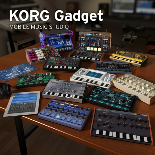 KORG Gadget v1 Previews (KORG Gadget Official Selection)