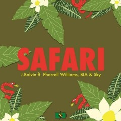 J Balvin Pharrell Safari
