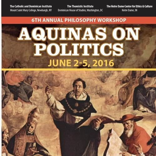 """Fr. Thomas Joseph White, OP """"The Nature of Religious Freedom"""" (6/4/16)"""
