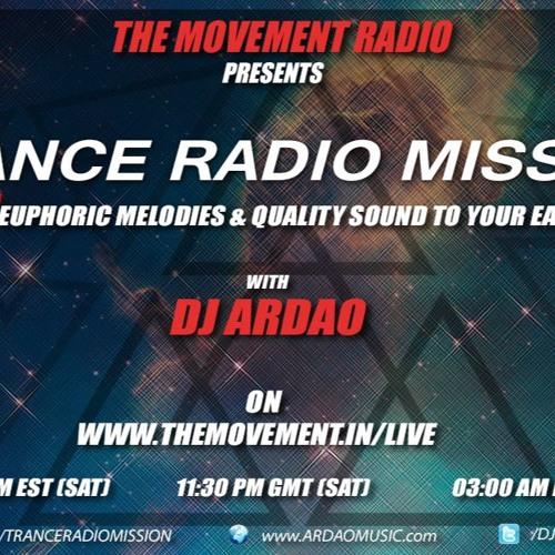 Dj Ardao - Episode 189 Of Trance Radio Mission With DJ R3volution