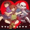 Undertale - Stronger Than You Trio- Sans Vs Chara Vs Frisk