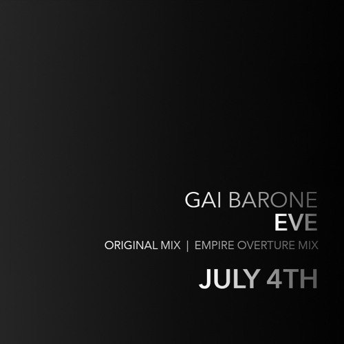 Gai Barone - Eve (Original Mix) Sample