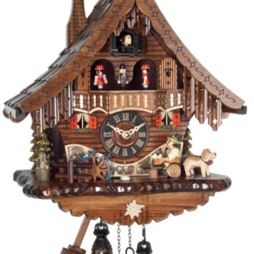 Quartz cuckoo clock melodies by Fehrenbach Black Forest Cuckoo