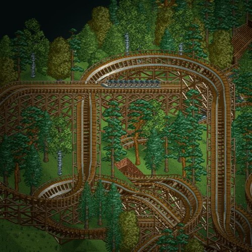 Rollercoaster Tycoon 1 - Title Screen