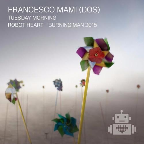 Francesco Mami (DOS) - Robot Heart - Burning Man 2015