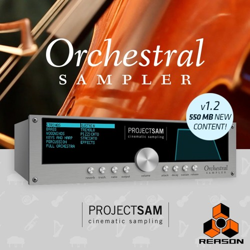 Orchestral Sampler Rack Extension for Reason