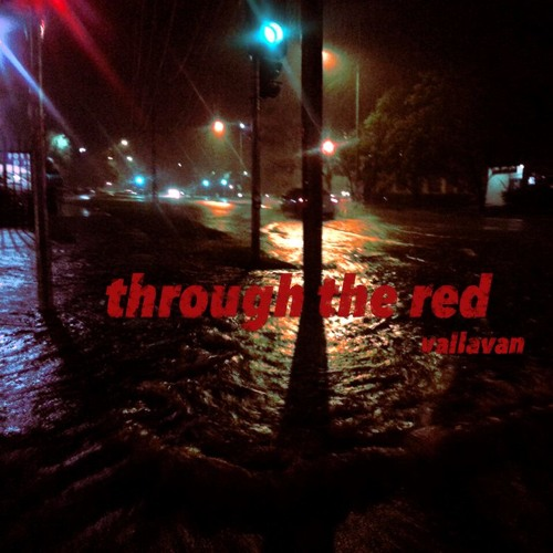 through the red