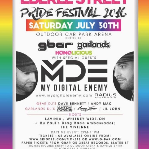 GBar Eberle Street Pride Promo Mix