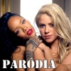 """Shakira - Can't Remember To Forget You ft. Rihanna """"Sinto Cheiro Forte de Couro""""..."""