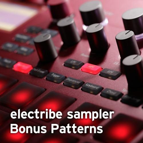 electribe sampler Bonus Pattern Previews