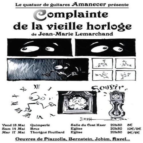 Complainte de la vieille horloge (extraits)