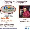 Harjot Kaur With Dr Mohammad Arshad On Khabar Saar Progamme 27 - Jun - 2016