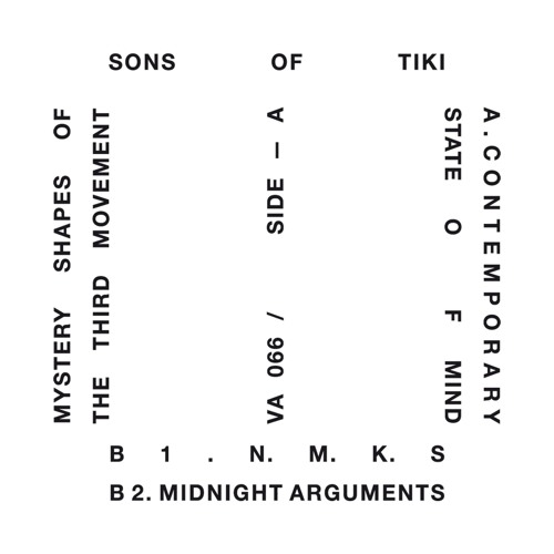 Sons of Tiki - Mystery Shapes Of The Third Movement