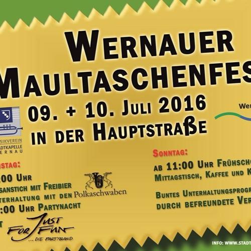2016 SPOT MusikvereinWernau Maultaschenfest Wochenende