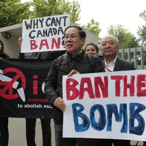 Poised to outlaw nuclear weapons