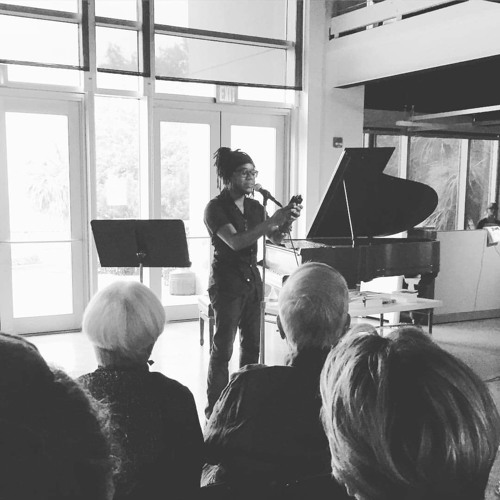 First show as Poet Laureate of Charleston, SC - June 29, 2016