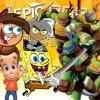 Nicktoons Unite vs TMNT (Ninja Turtle Sequel) - ERB Season 4 Parody #7