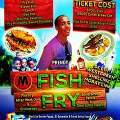 DJ KING BOOGIE FROM RENZ INTL - PRENDY'S FISH FRY PROMO MIXX CD