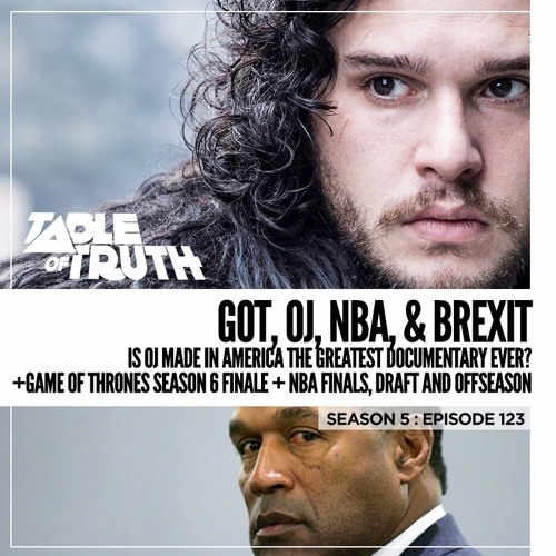 Episode 123: GoT, OJ, NBA, & BREXIT