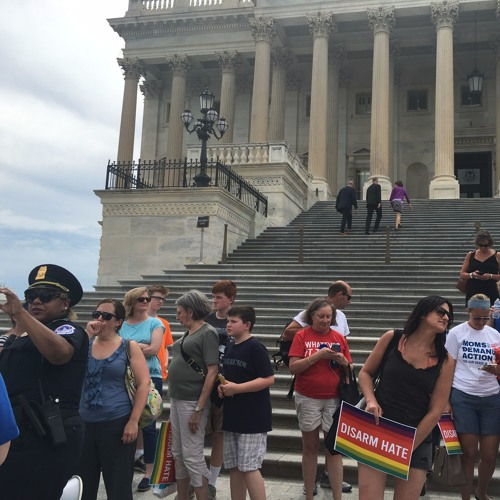 Seacoast Currents w/ Crystal Paradis on DC trip: Democratic sit-in & Supreme Court decision