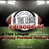 Episode 44 - Chris Harris Of HarrisFootball, Joe Pisapia, No RB Strat, 15 - 16 Ranks Analysis
