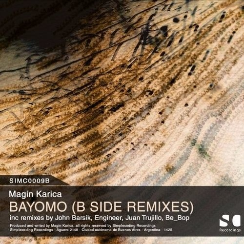 SIMC0009B Magin Karica - Bayomo (Engineer Remix)