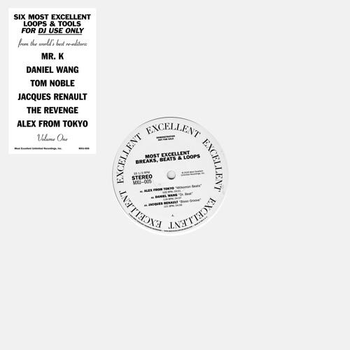 Most Excellent Breaks, Beats & Loops Volume 1