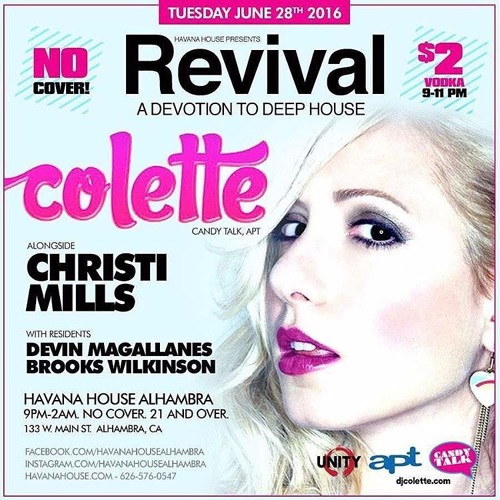 Colette [Live from Revival on Subliminal Radio] 12AM by