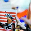 Slash Plays National Anthem of U.S.A as its war-acktion...., still.