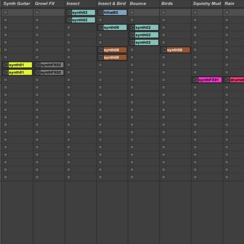 Assignment 5 - Producing Music with Ableton Live (Berklee Online) 6.5.15 Insects Frogs Birds Oh My!