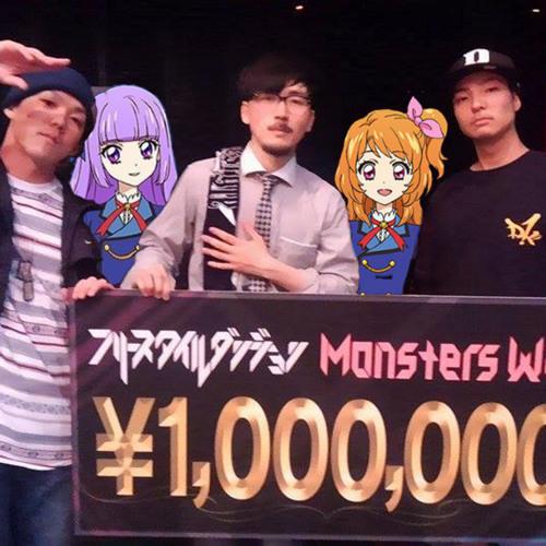 るか・もな・どたま・しょうげん・わん from AIKATSU☆STARS! - Hey! WINNERS