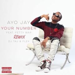 Dj Taj ~ Your Number (Remix) feat. Dj Flex