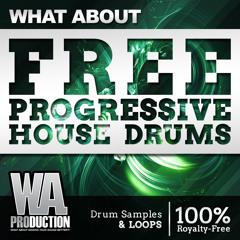 FREE Progressive House Drums [150+ Paris Blohm / Revealed Inspired Drum Samples & Loops]