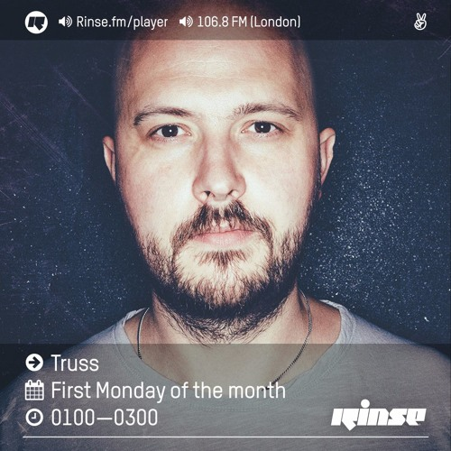 Rinse FM Podcast - Truss - 4th July 2016