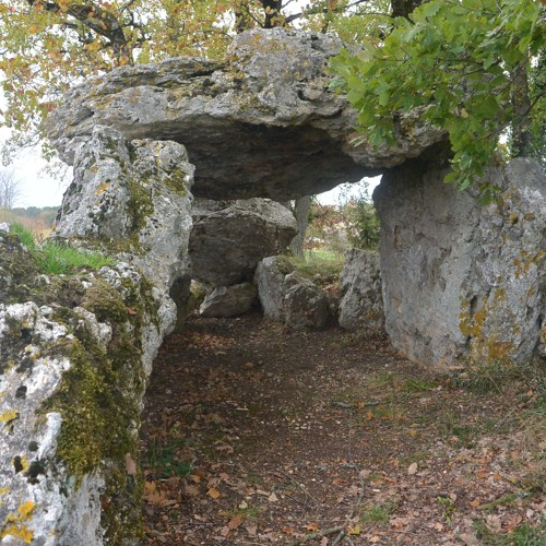 Le dolmen de Blanc