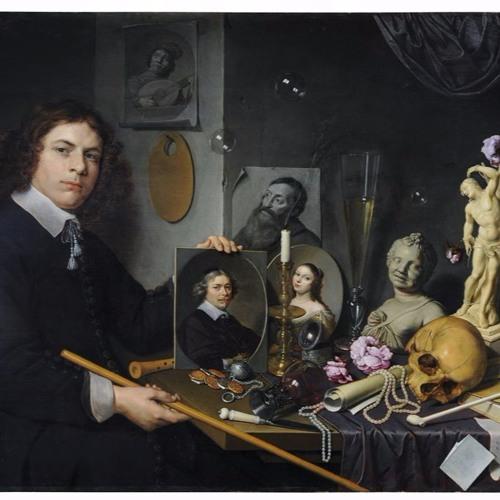 David Bailly, Vanitasstilleven met zelfportret (1651)