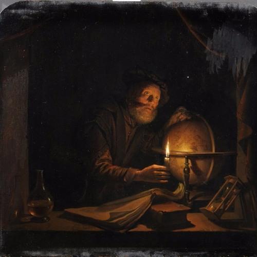 Gerrit Dou, De Astronoom (ca. 1650)