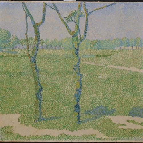 Jan Toorop, Twee bomen (ca. 1897)