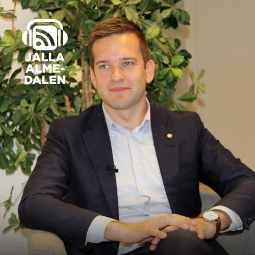 Jalla Almedalen 2016 Intervju med Gabriel Wikström folkhälso sjukvårds och idrottsminister