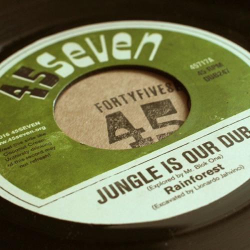 "Rainforest - Jungle Is Our Dub (45717, 7"", 2016)"