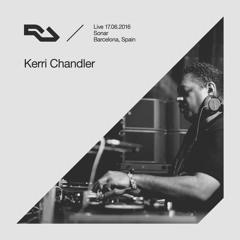 RA Live - 2016.06.17 - Kerri Chandler, Sónar Festival, Barcelona