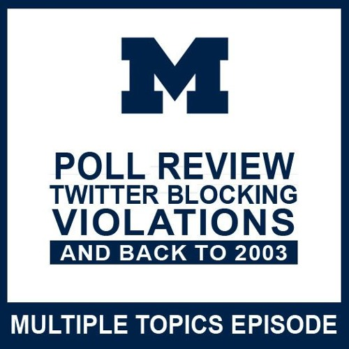 Poll Review, Twitter Blocking, Violations & 2003: Episode 52