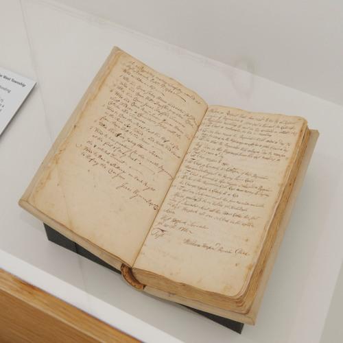 Proprietors Book and Surveyor's Chain - Patricia Leach
